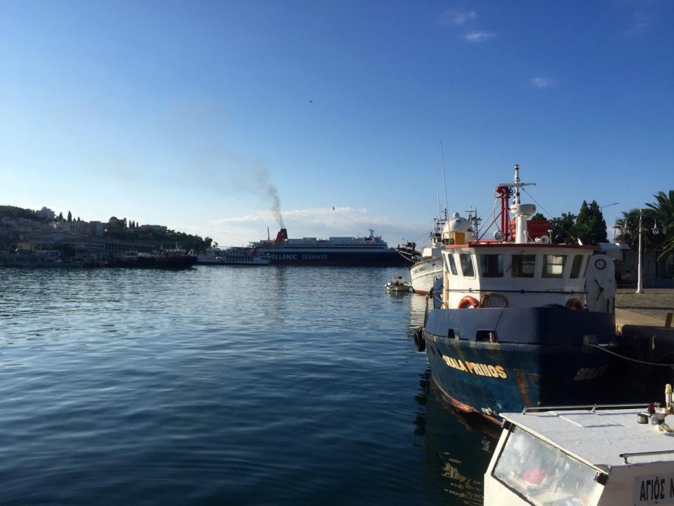 Kavala - ferries go to islands, including Samothrace
