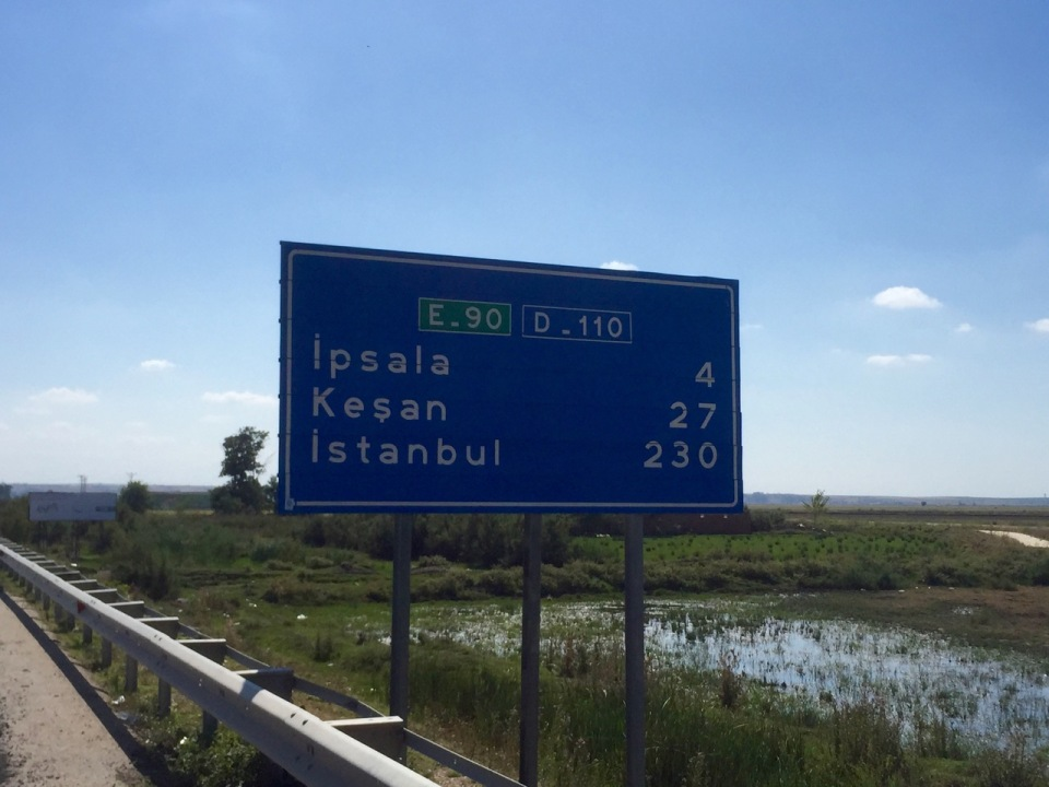 Only 230km to Istanbul