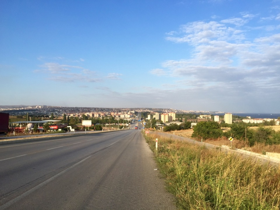 Arriving in Tekirdag