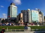 Made it to Taksim Square, now to find a hostel