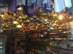 Lots of little shops and bazaars - nice light show