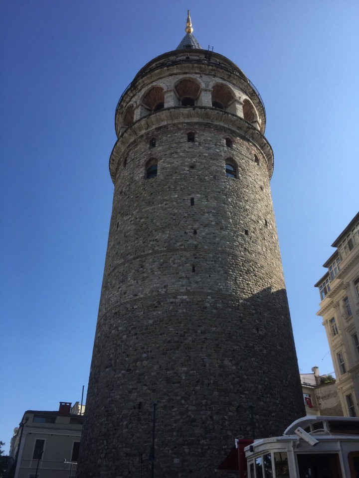 Galata Tower - built by the Genoese in 1348