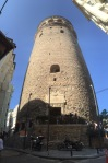 Galata tower panorama