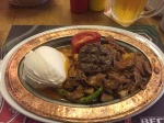 An Iskender Kebap to end the day on, very tasty