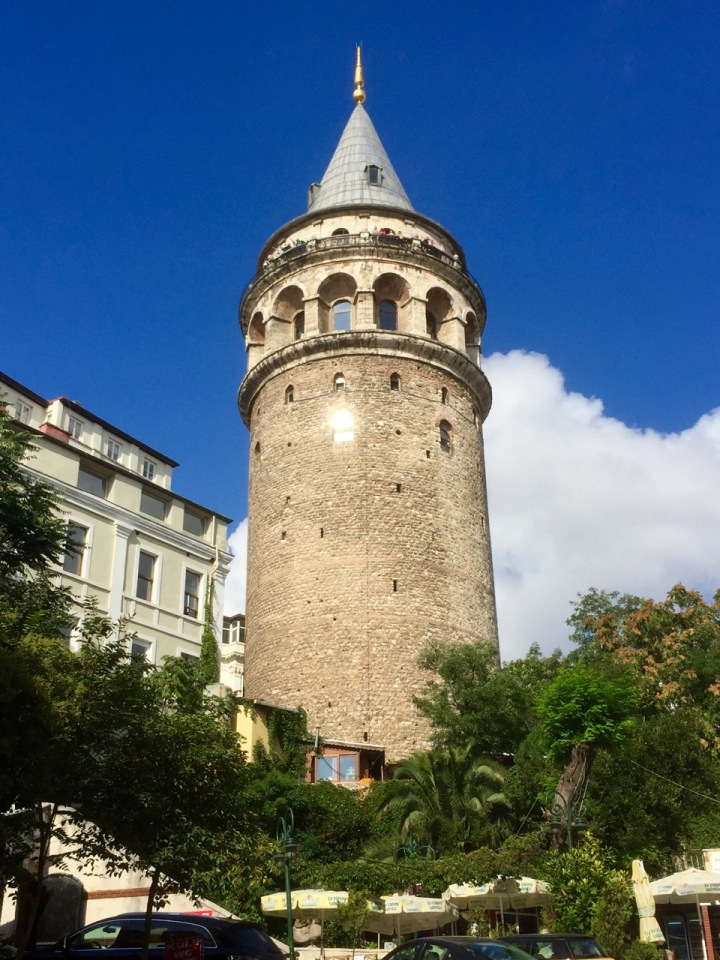Walked past the Galata Tower on my way to the old city