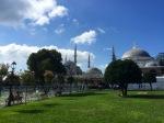 Sultan Ahmet mosque minarets