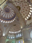 Impressive domed ceilings