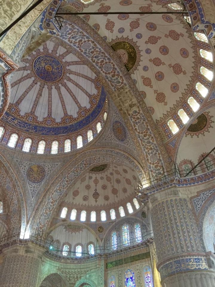 Impressive domed ceilings