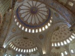 Domed ceiling of Blue Mosque