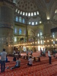 Interior of Blue Mosque 2
