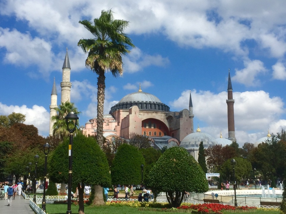 A better view of Hagia Sophia