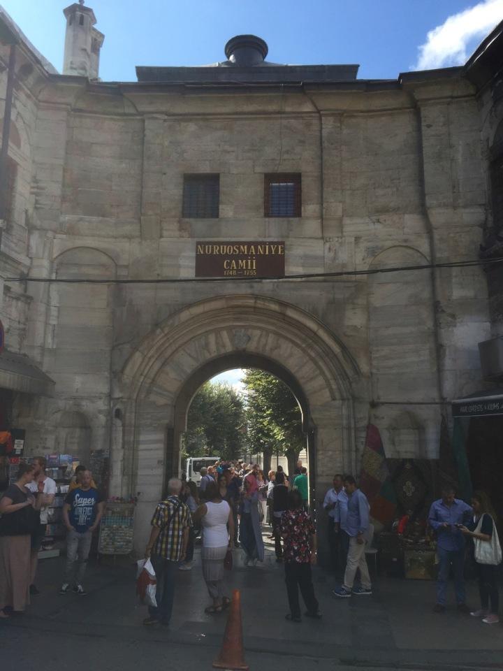 Walking to the Grand Bazaar