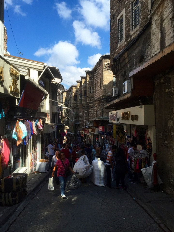 There's a maze of narrow streets surrounding the bazaar, with yet more shops and restaurants