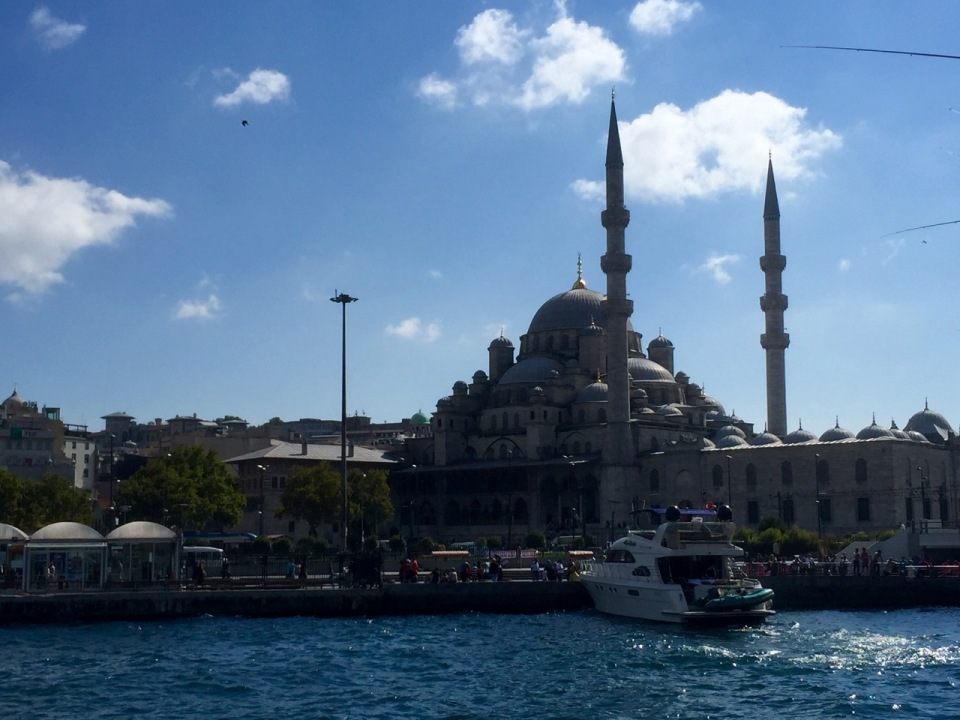 The New Mosque by the waterfront