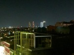 Night time view from hostel terrace #bunk