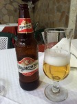 The local beer, good quality brew