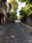 Arriving in Plovdiv old town