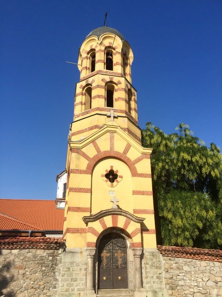 Church in Plovdiv old town