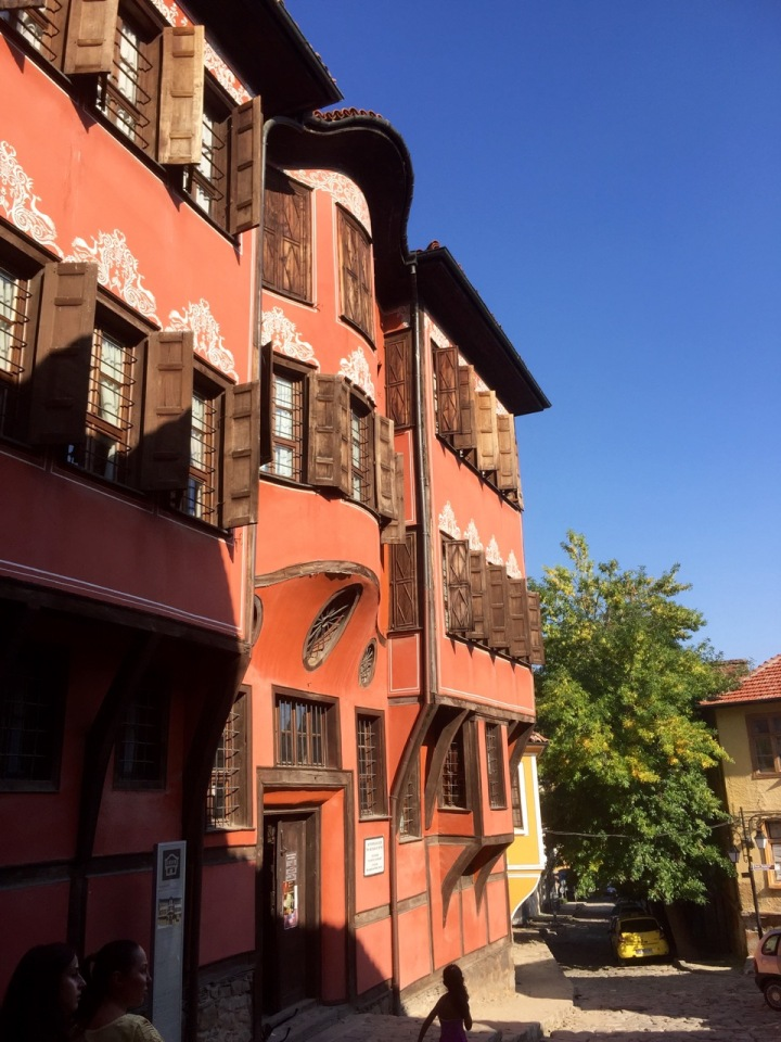 Some lovely old buildings, Plovdiv