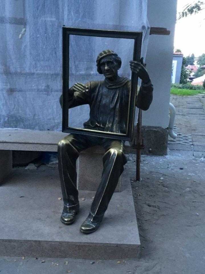 Random statue that caught my eye