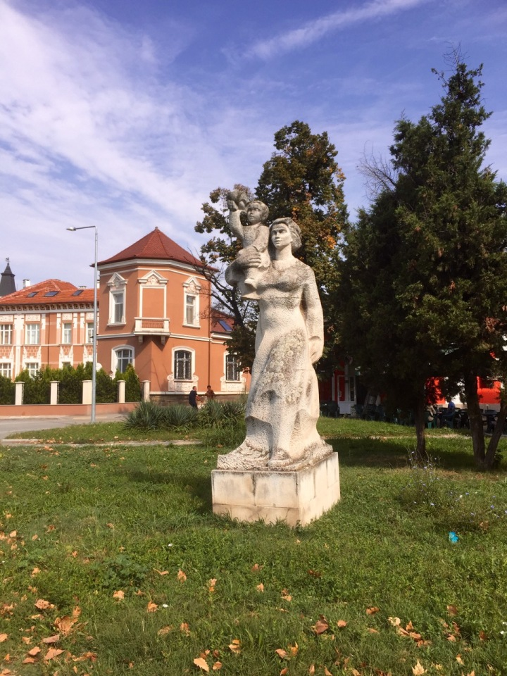 Another communist era looking statue, Vidin