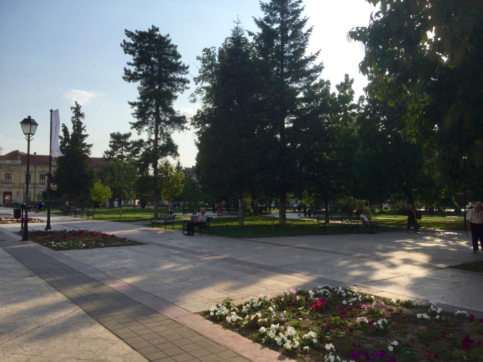 Park in Negotin