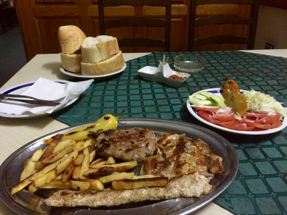 Feast at Hostel Olimpik
