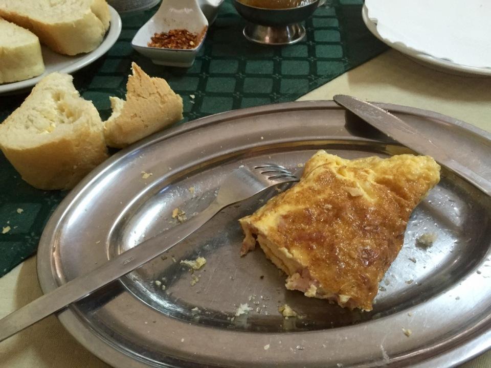 Breakfast omelette, Negotin
