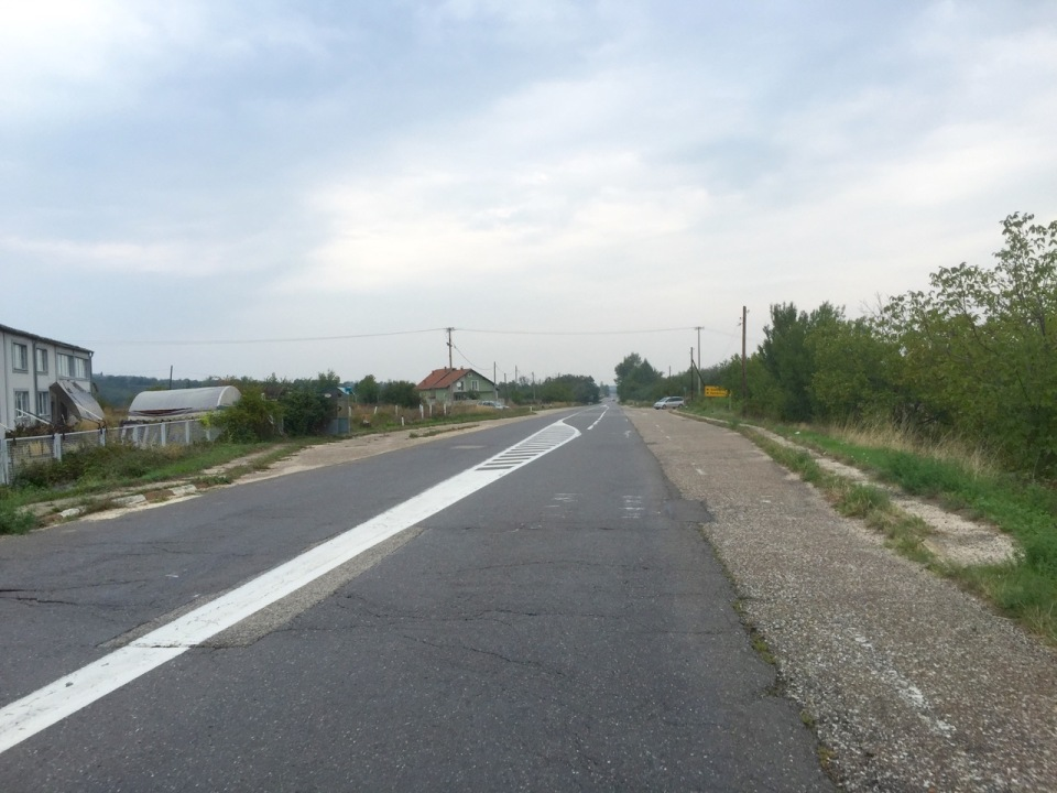 Road South to Kladova