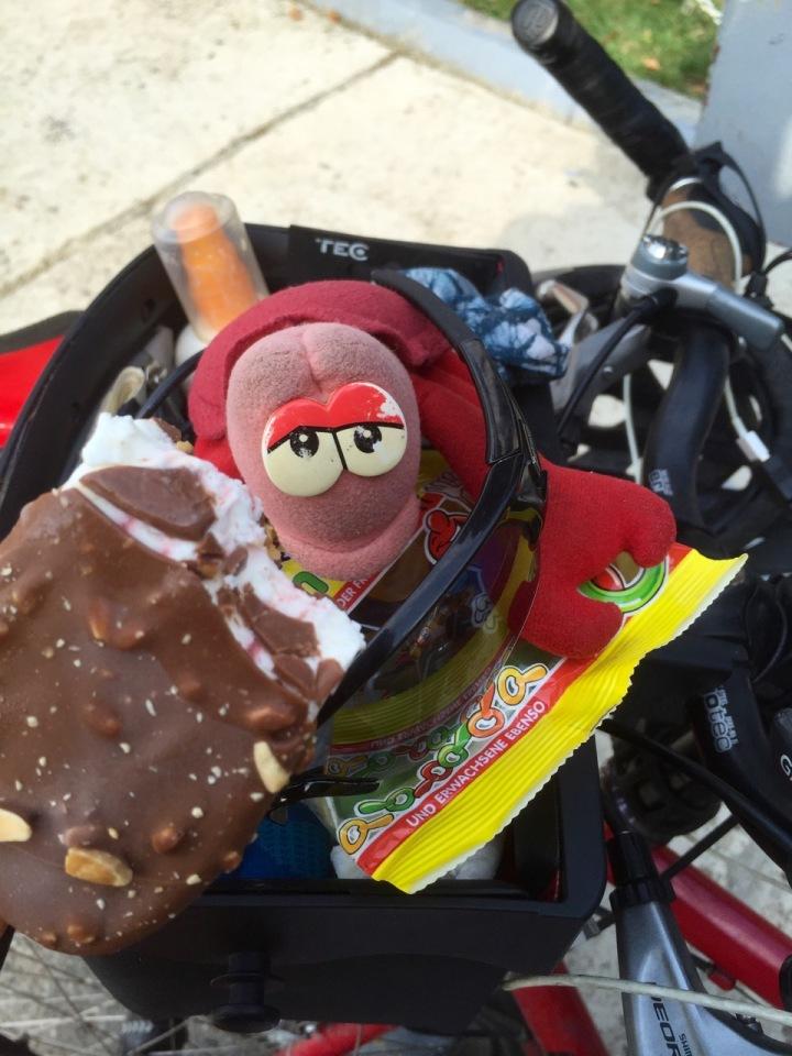 Ice cream stop in Donji Milanovic