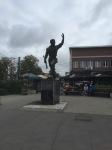 Outskirts of Belgrade - assuming Soviet era statue