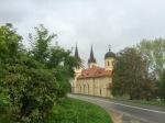Church near meeting spot