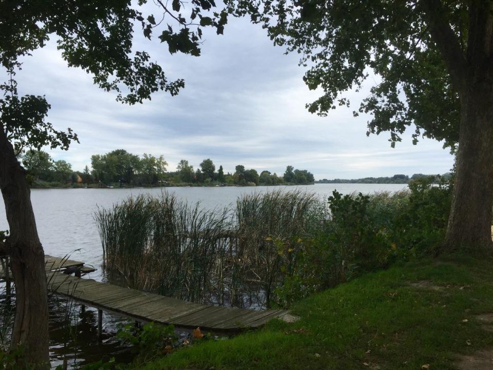 Quiet fishing spots abound