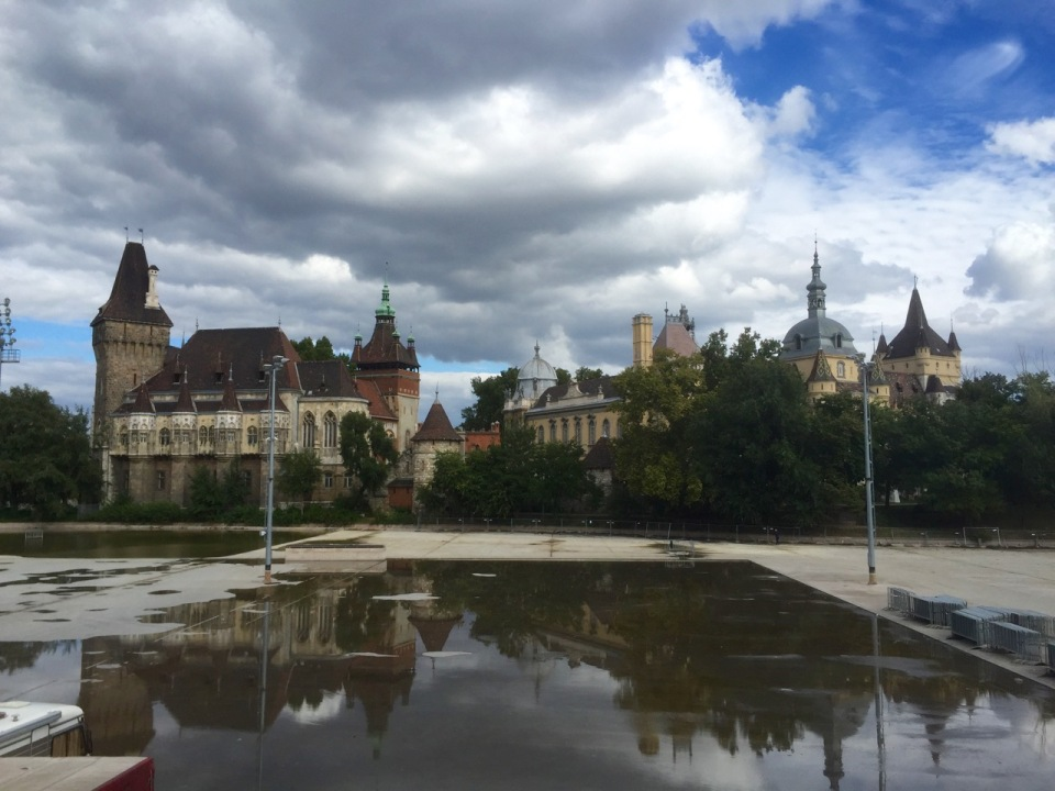 Varosliget castle in City Park