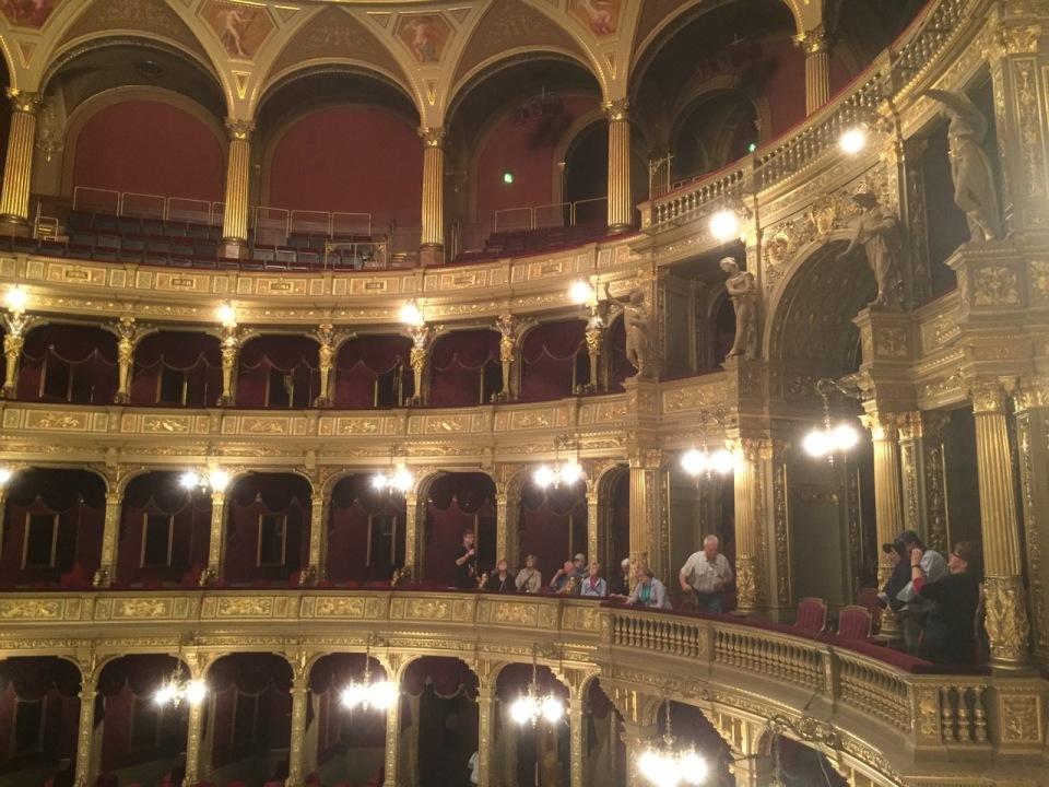 The expensive seats, Opera House