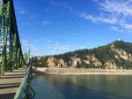 Crossing the Danube to 'Buda'