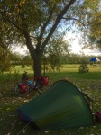 Good to be camping again (Topart Camping)