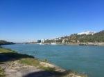 The Danube flowing past Bratislava