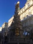 Golden statue, Vienna
