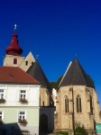 Morning route through small towns; Maria-Anzbach