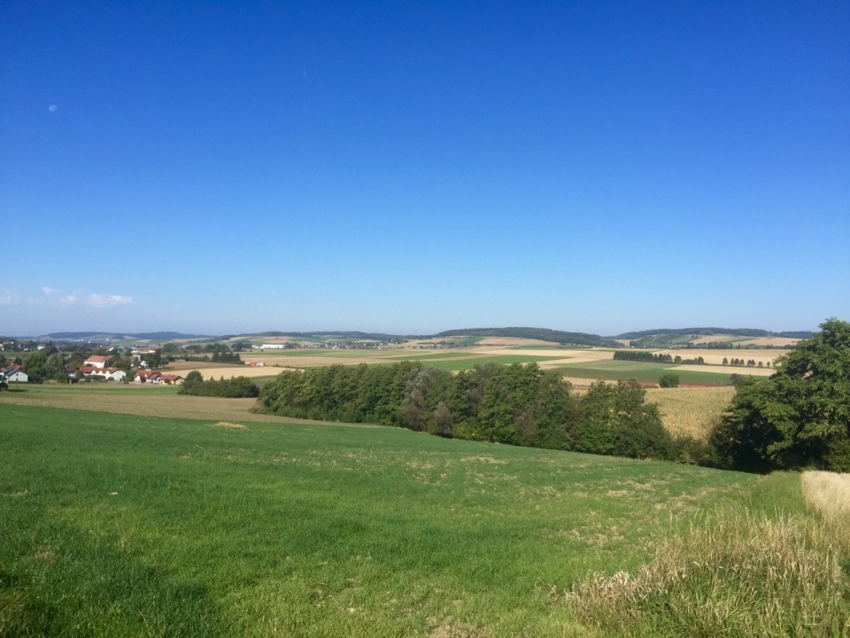 Austrian countryside looking nice in sunshine