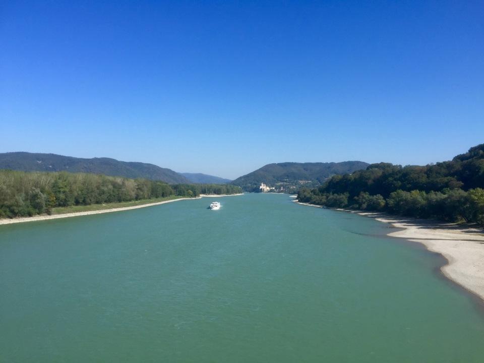 Arrived back at the Danube near Emmersdorf an der Donau
