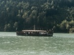 Viking like tourist boat, nr Sankt Martin im Mühlkreis