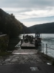 Taking the ferry at Kirchberg ob der Donau