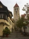 Regensburg Old Town street
