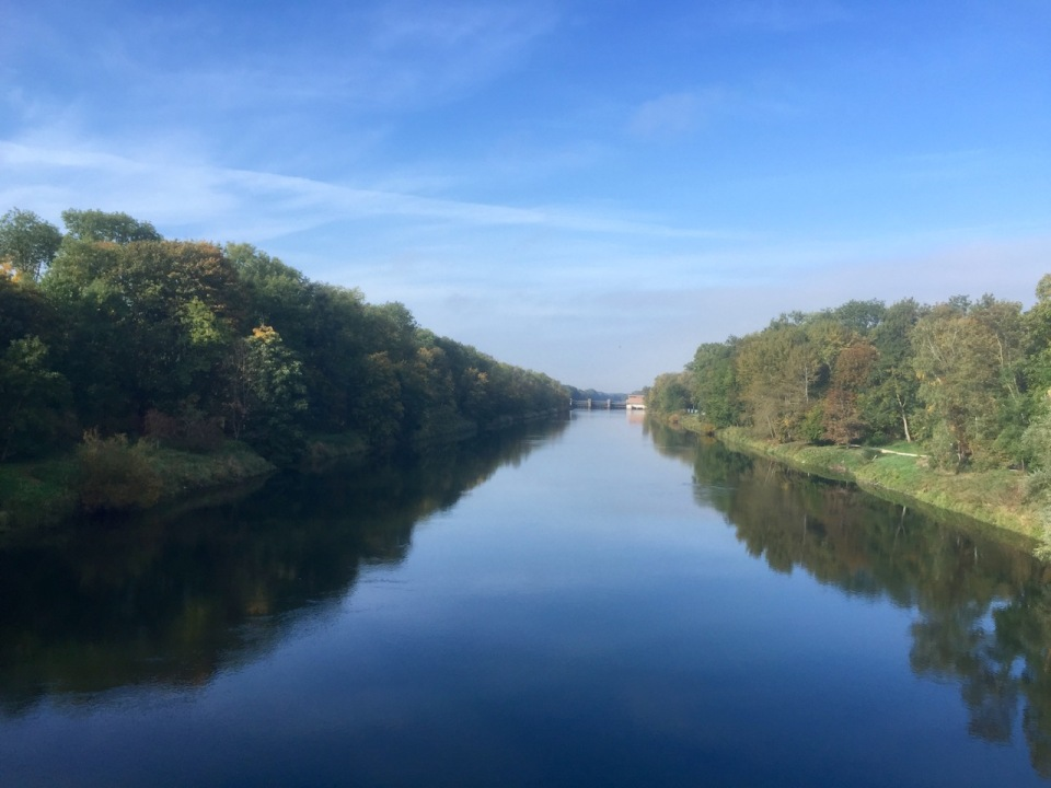 Donau and sunshine in Dillingen an der Donau