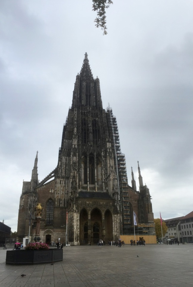 Ulm Cathedral - tallest spire in the world