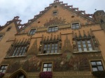 Rathaus 2; interesting coats of arms at top