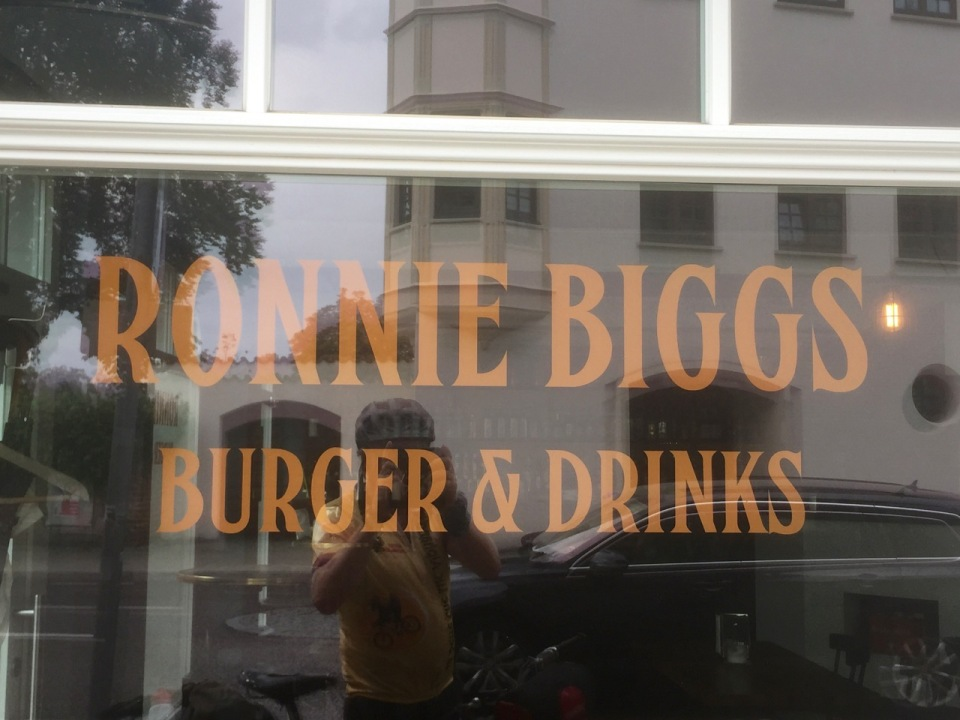 This seemed a bit out of place; I don't think Ronnie Biggs is worth celebrating at all