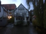 House surrounded by water, Ulm